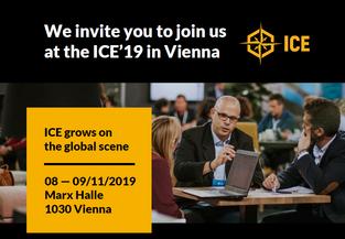 Meet us at ICE 2019 in Vienna Booth D 14